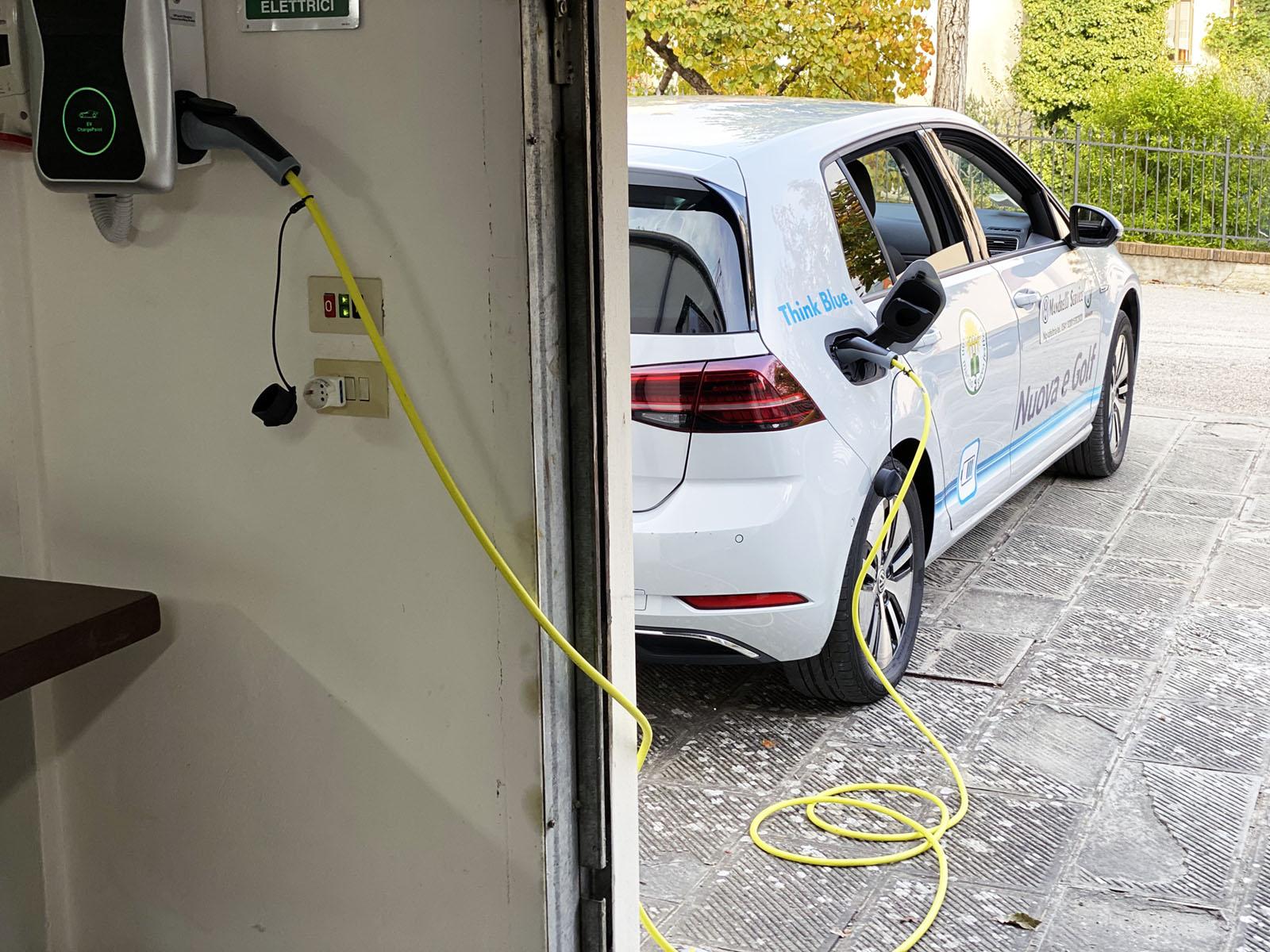 punto ricarica auto elettriche